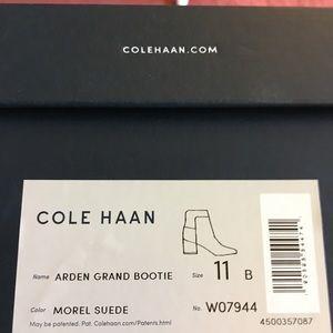 Cole Hana suede booties